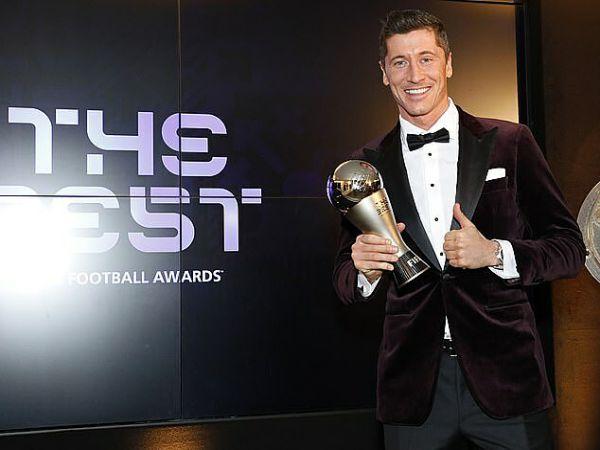 Bóng đá quốc tế 18/12: Lewandowski giành giải The Best