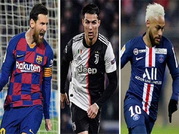 Top 6 cầu thủ lương cao nhất thế giới