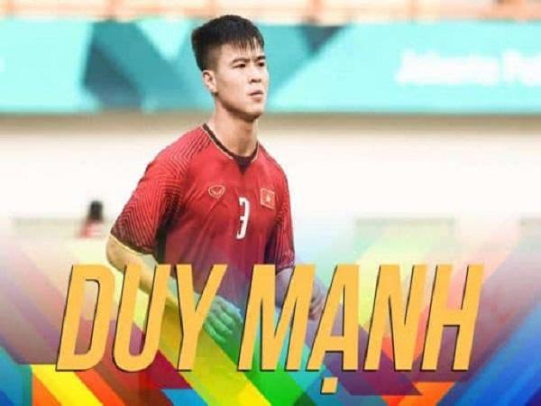 Tiểu sử cầu thủ Đỗ Duy Mạnh – cầu thủ đẹp trai, tài năng