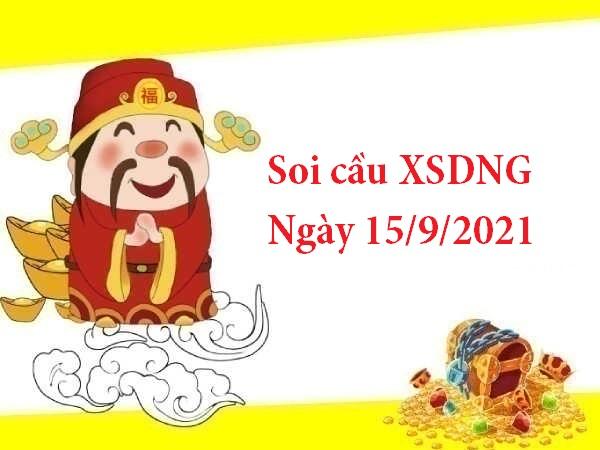 Soi cầu XSDNG 15/9/2021 hôm nay