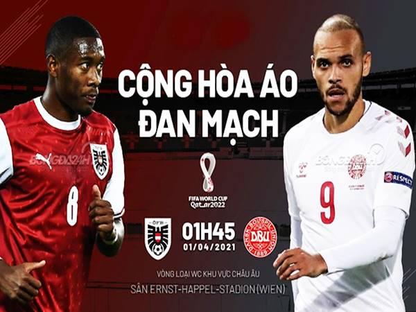 Nhận định bóng đá Đan Mạch vs Áo, 01h45 ngày 13/10